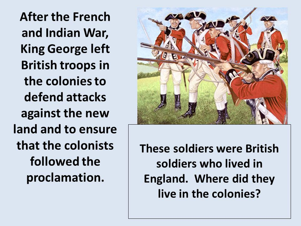 Colonists did not like being taxed by Great Britain.