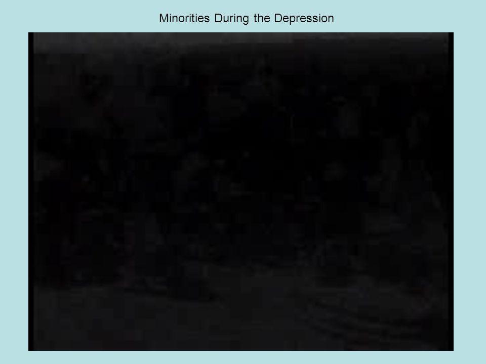Minorities During the Depression