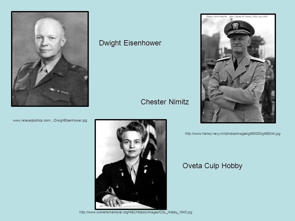www.relaxedpolitics.com/.../DwightEisenhower.jpg Dwight Eisenhower http://www.history.navy.mil/photos/images/g460000/g466244.jpg Chester Nimitz http:/