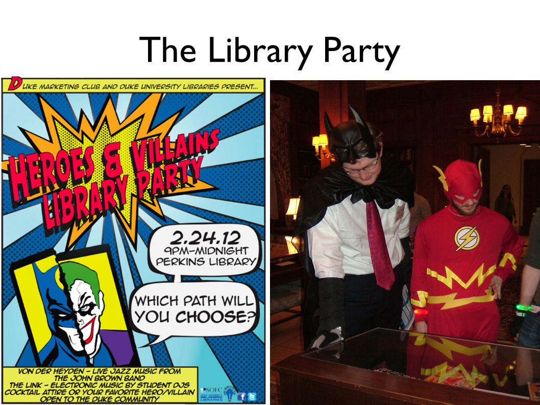 The Library Party
