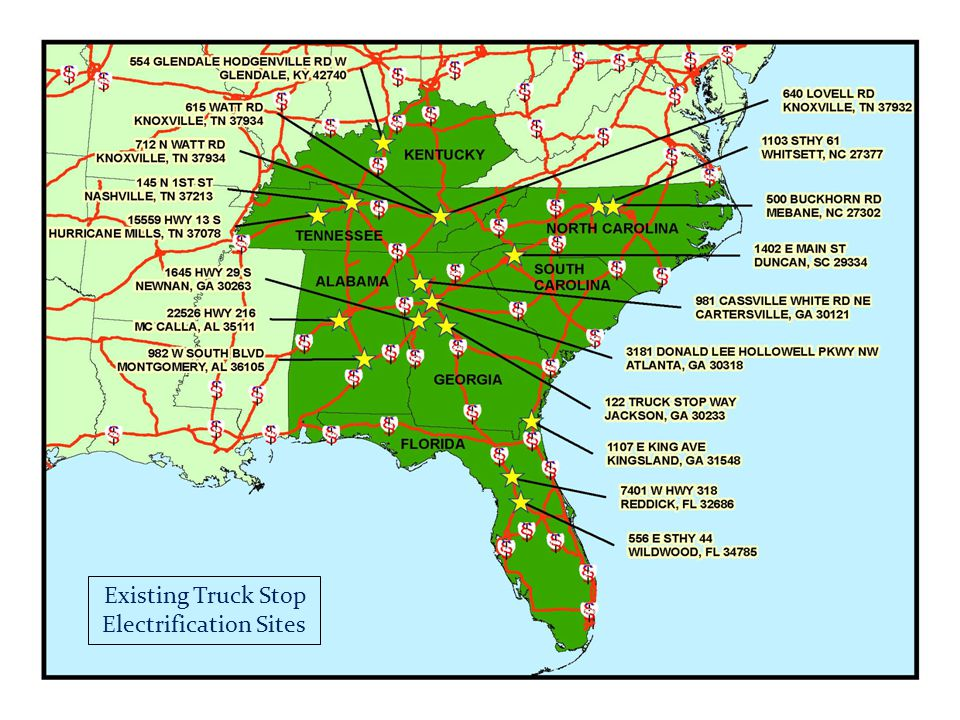 2006 National Deployment Strategy for Truck Stop Electrification project by the Texas Transportation Institute funded by the USEPA