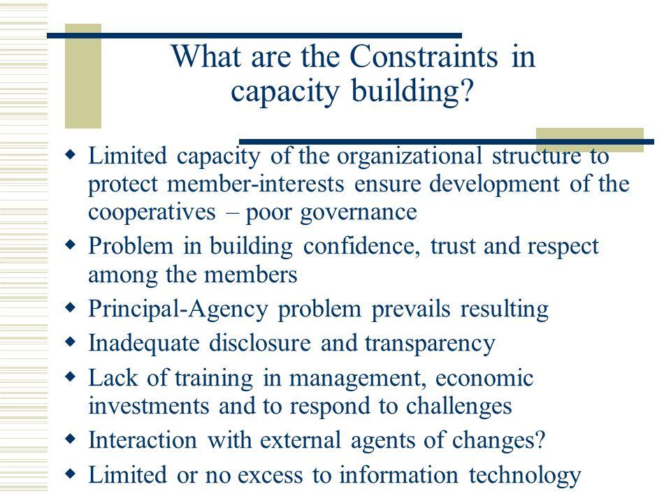 Major External Challenges.