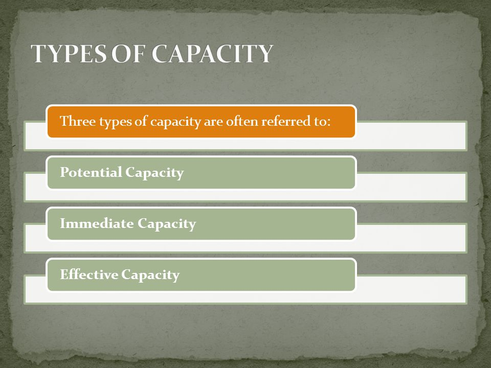 f) Dynamic nature of all factors affecting determination of plant capacity changes in the product design, process technology, market conditions and product life cycle, etc.