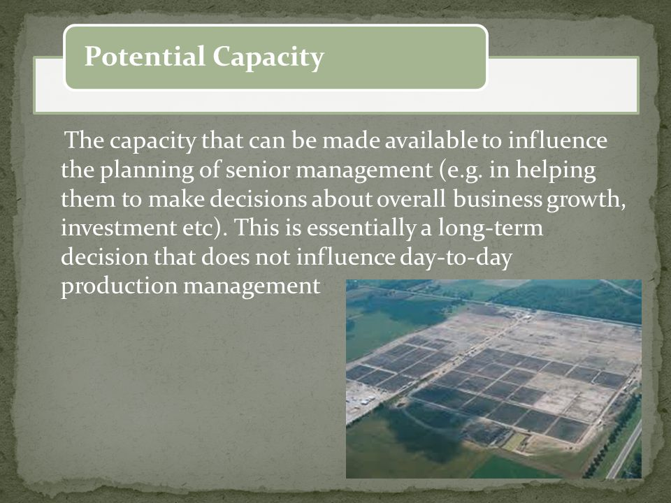 Growth opportunities of the facility in future, the development plans of the facility for the future, Scale value of the facility that took place in the economic sector, Efficiency, productivity and profitability are targets which is anticipated by the facility Funding opportunities which can be benefited by the facility, Technological level and production methods, Production Types Production quality assurance / security, Demand / sales level