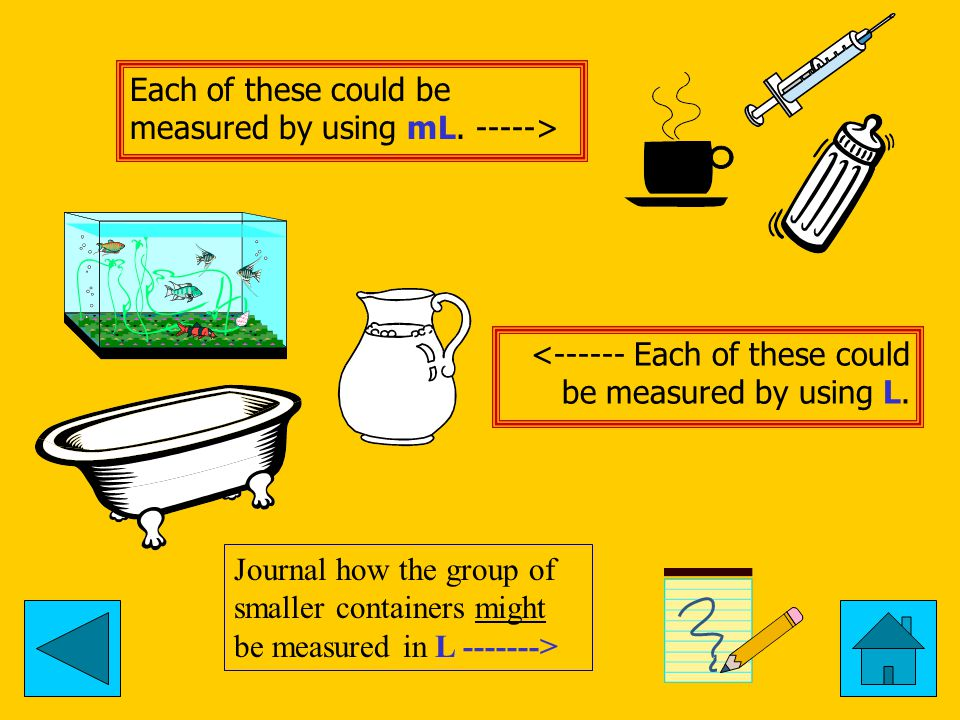 For each item write mL or L and then tell why you chose this measurement as the most reasonable.