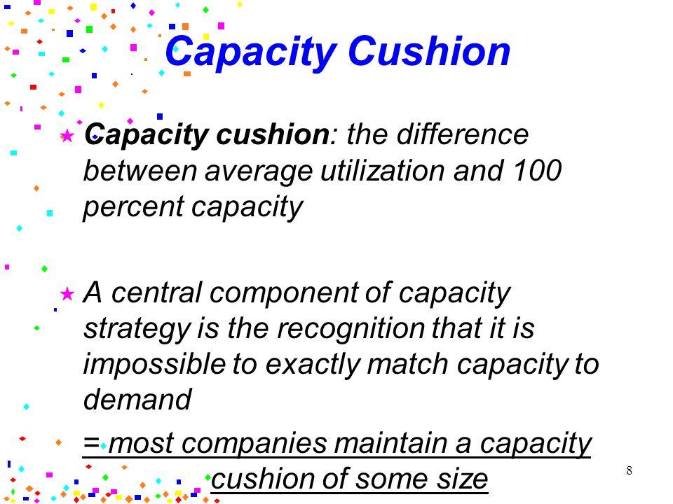 7 An Aggressive Capacity Strategy