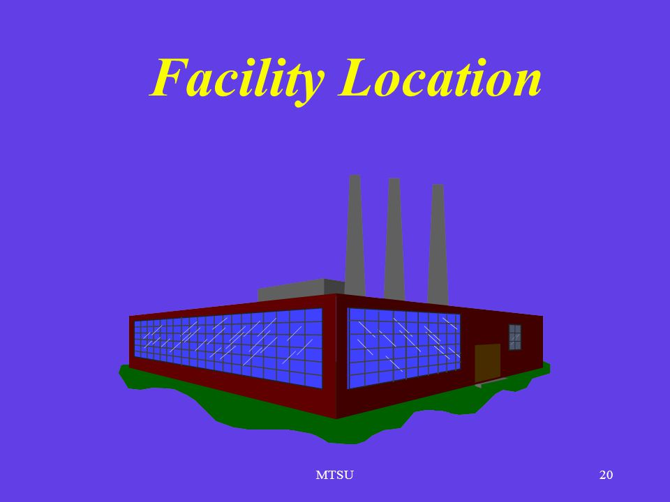 MTSU20 Facility Location