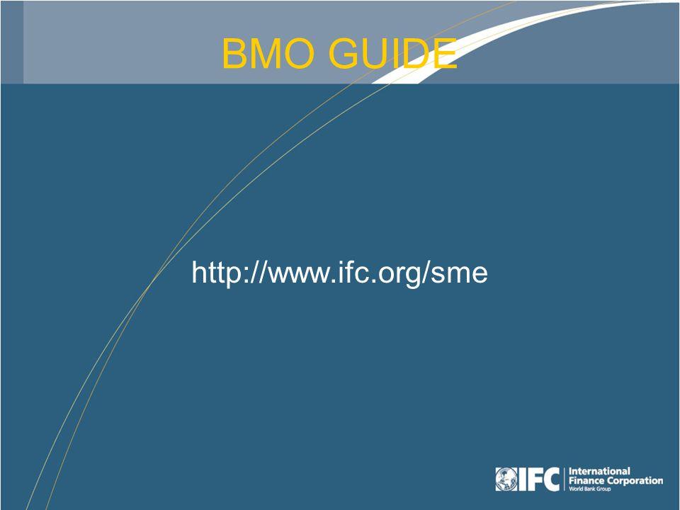 BMO GUIDE http://www.ifc.org/sme