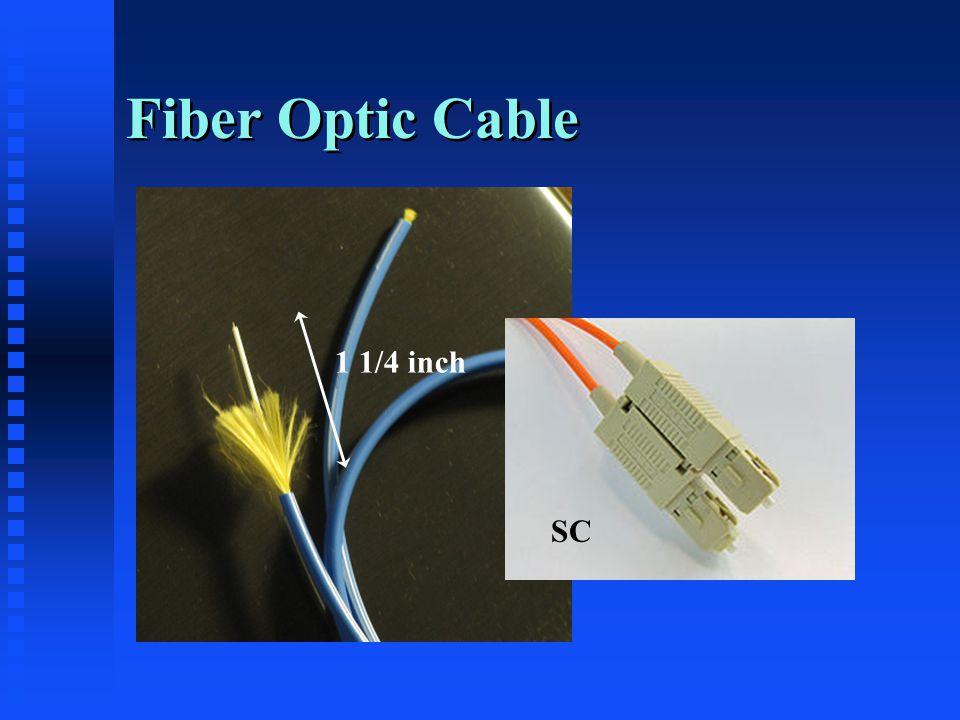Fiber Optic Cable 1 1/4 inch SC