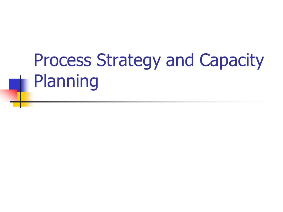 Introduction What: Making process and capacity decisions Where: Produce goods and services Why: Long term effects on company