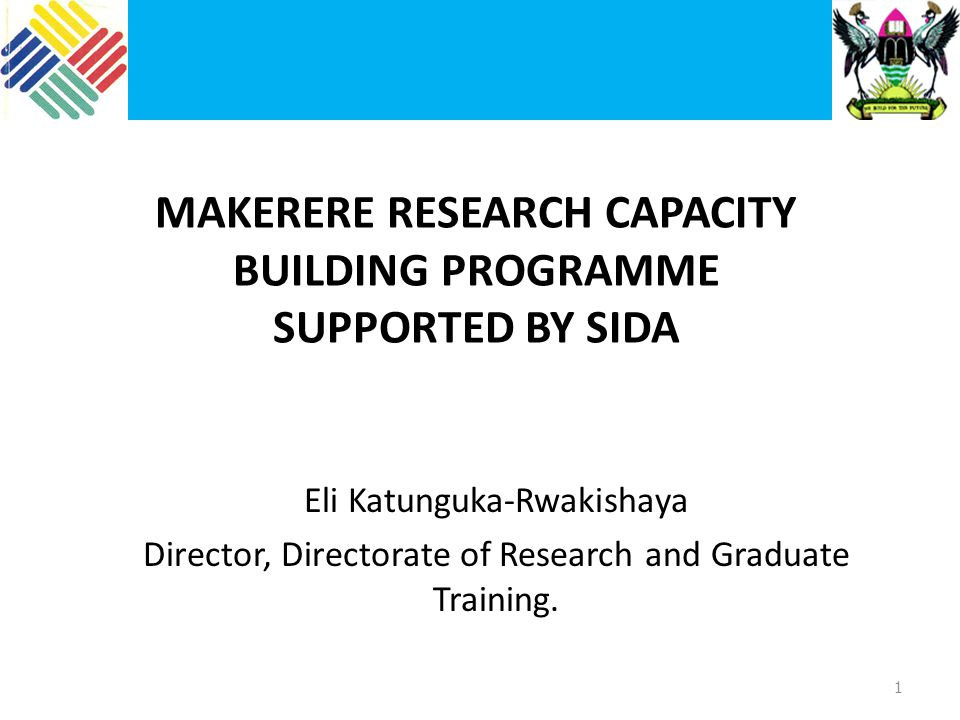 Makerere Reforms Started in 2007/8 Supported by Sida, EDTCP, Makerere University Aim: To reform research coordination and management including financial and information management systems (expanded to include teaching and learning, college formation and Finance and Administration) Committee to conclude its work by June 2011 Change management committee already in place 22