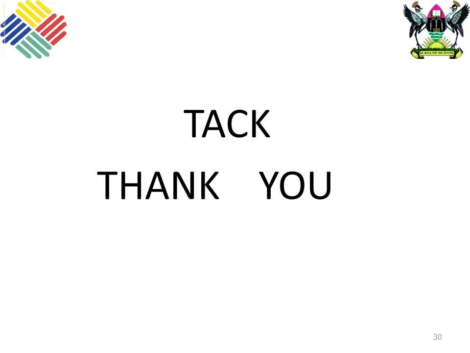 30 TACK THANK YOU