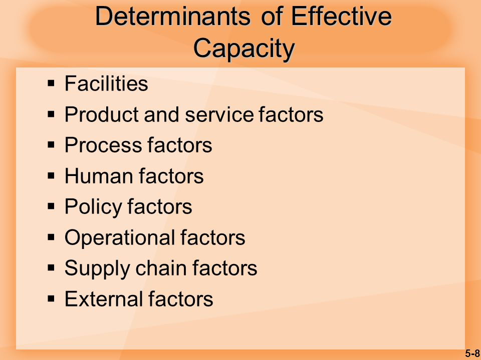 5-19 Optimal Rate of Output Minimum cost Average cost per unit 0 Rate of output Production units have an optimal rate of output for minimal cost.