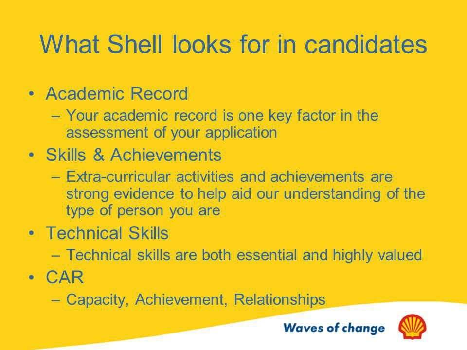 The Shell Recruitment Day What Is It.