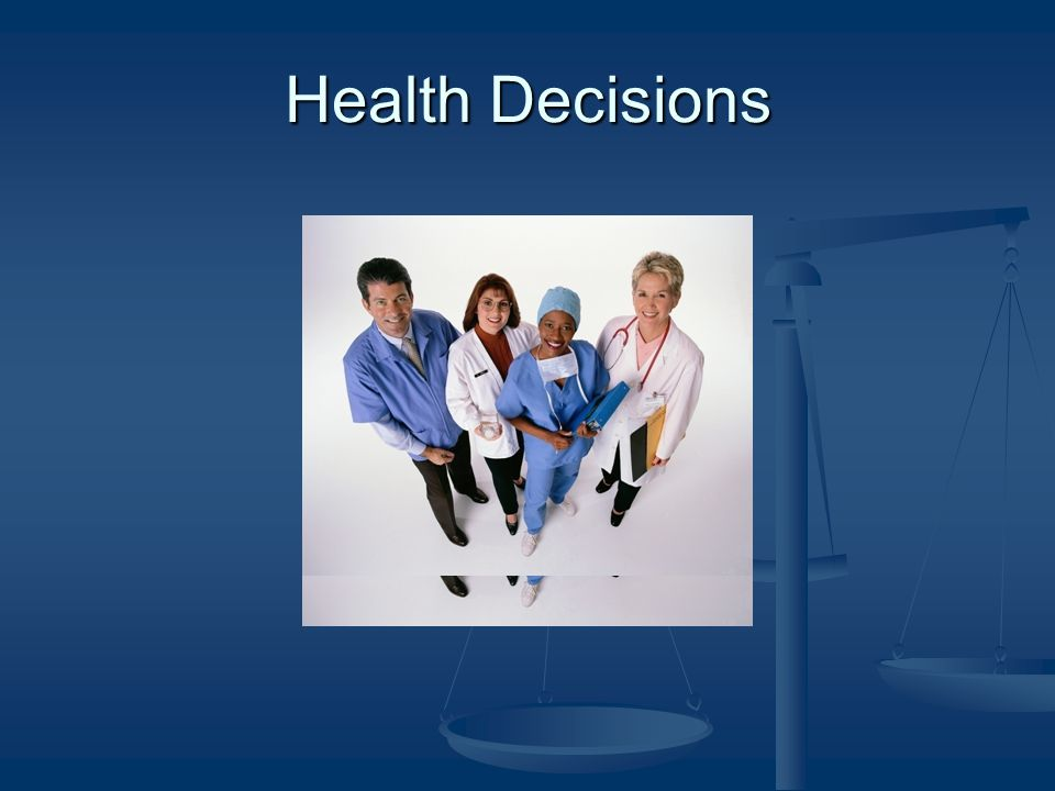 A person is unable to make a decision for himself if he is unable: 1.