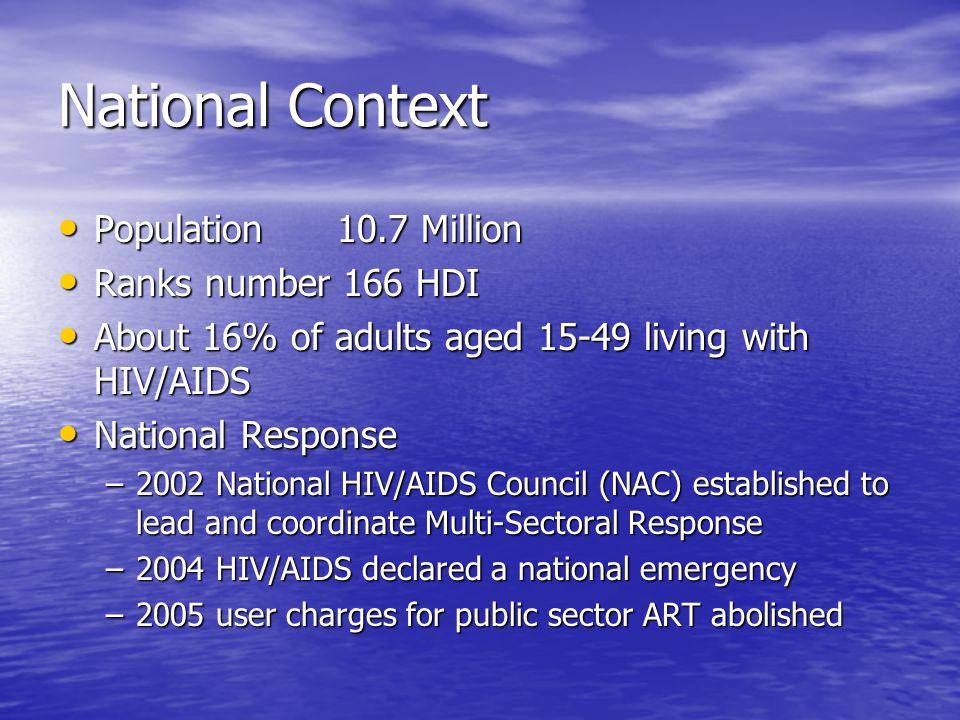 HIV/AIDS Funding Three GHIs Three GHIs –Global Fund –World Bank (MAP) –PEPFAR Disbursement mechanism Disbursement mechanism –Global Fund- Principal Recipients –World Bank (MAP)- Ministry of FNP –PEPFAR- USAID, CDC, CIDRZ