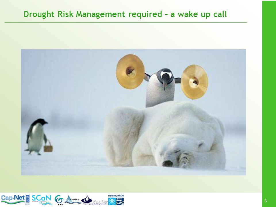 3 Drought Risk Management required – a wake up call