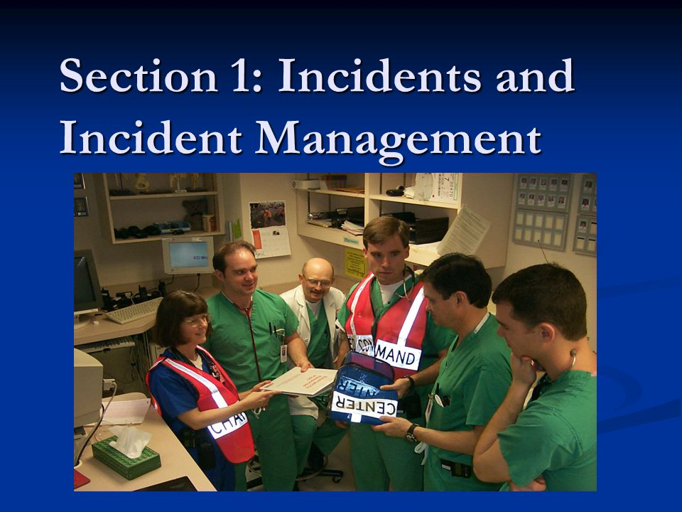 Overview Define disaster Define disaster Incident management and its importance in surge capacity Incident management and its importance in surge capacity The CST of surge The CST of surge Getting all Cs – Command, control, communications and coordination Getting all Cs – Command, control, communications and coordination