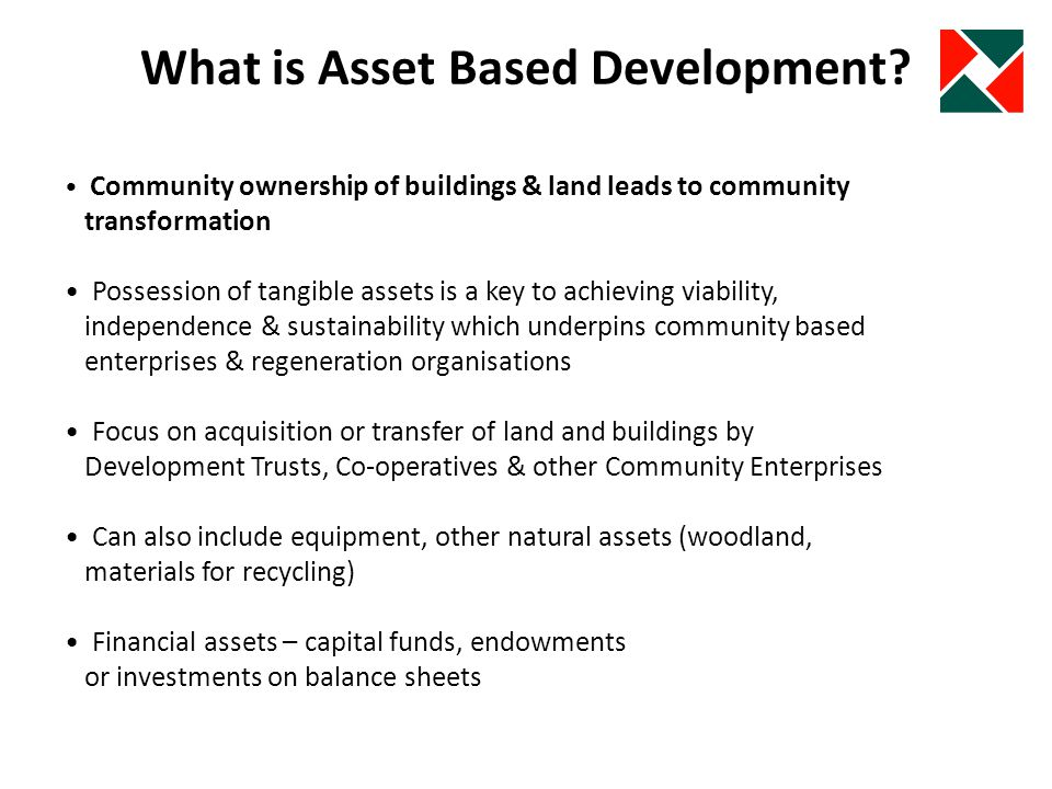 What is Asset Based Development.