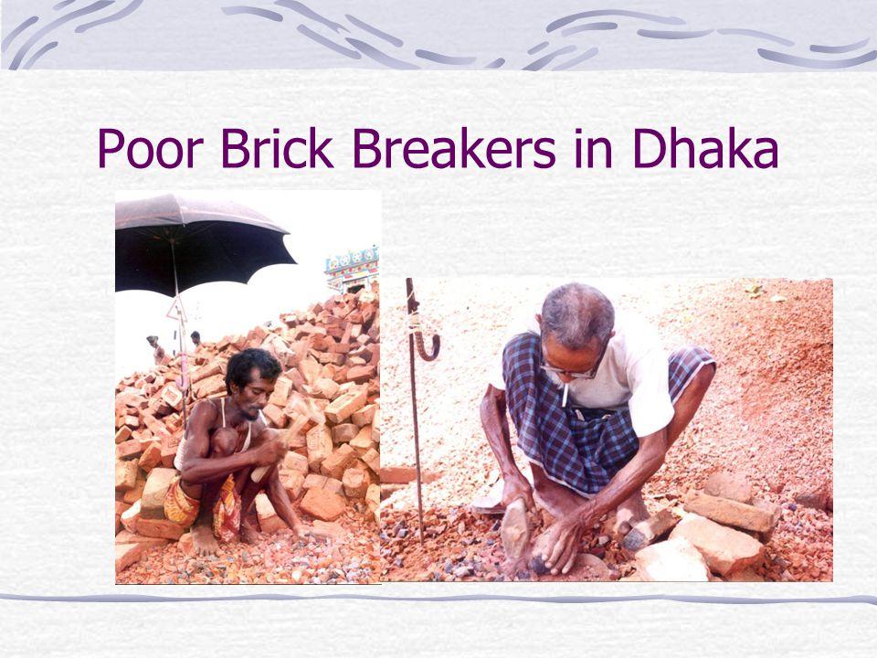 Poor Brick Breakers in Dhaka