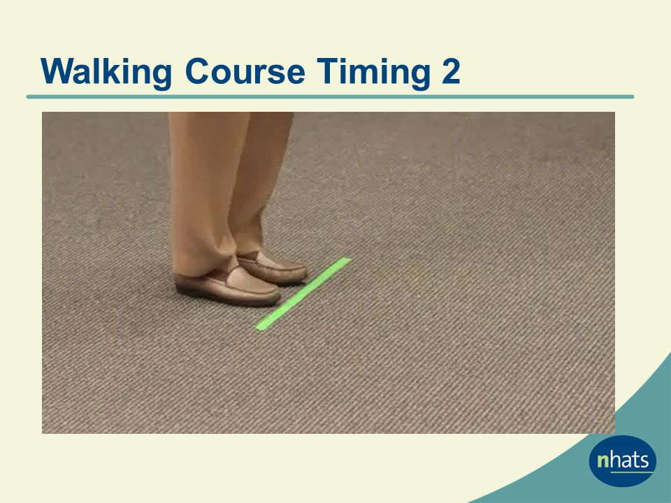 Walking Course Timing 2