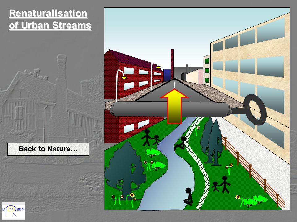Renaturalisation of Urban Streams Back to Nature…