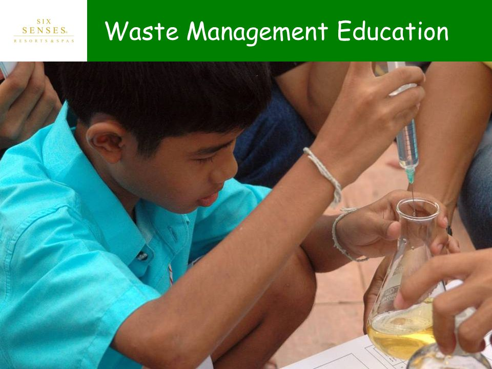 Waste Management Education
