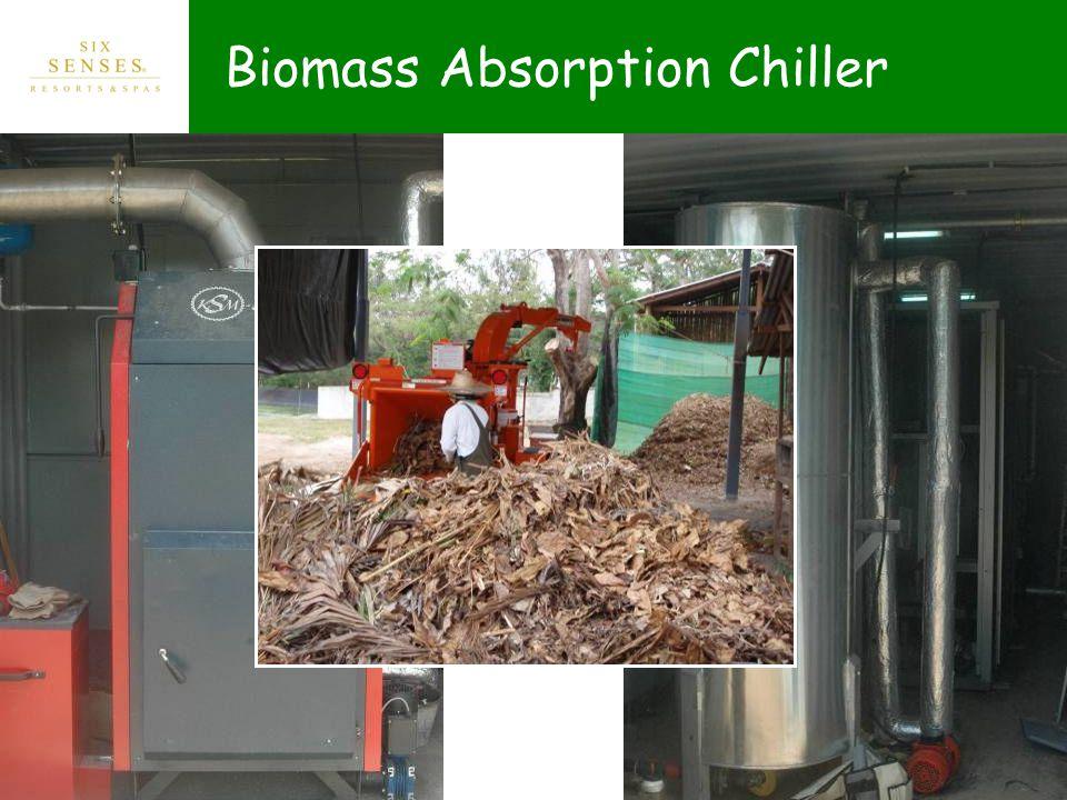 Biomass Absorption Chiller