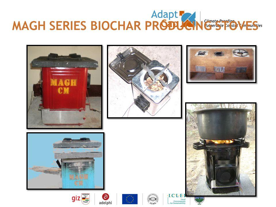 Dokumentation Ergebnisse 29./30 August 2006 / Folie 10 Folie 10 MAGH SERIES BIOCHAR PRODUCING STOVES