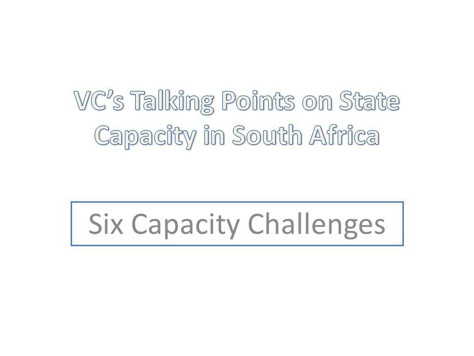 Six Capacity Challenges