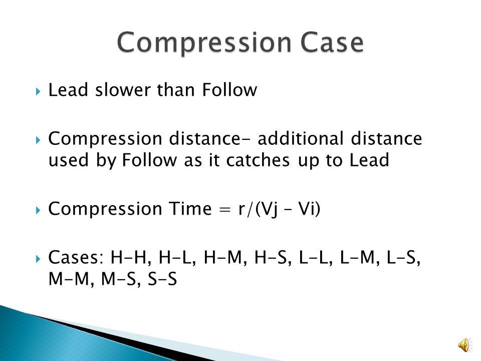 Tij = sij/vj for compression case Tij = ((r + sij)/vj ) – (r/ vi ) for separation case