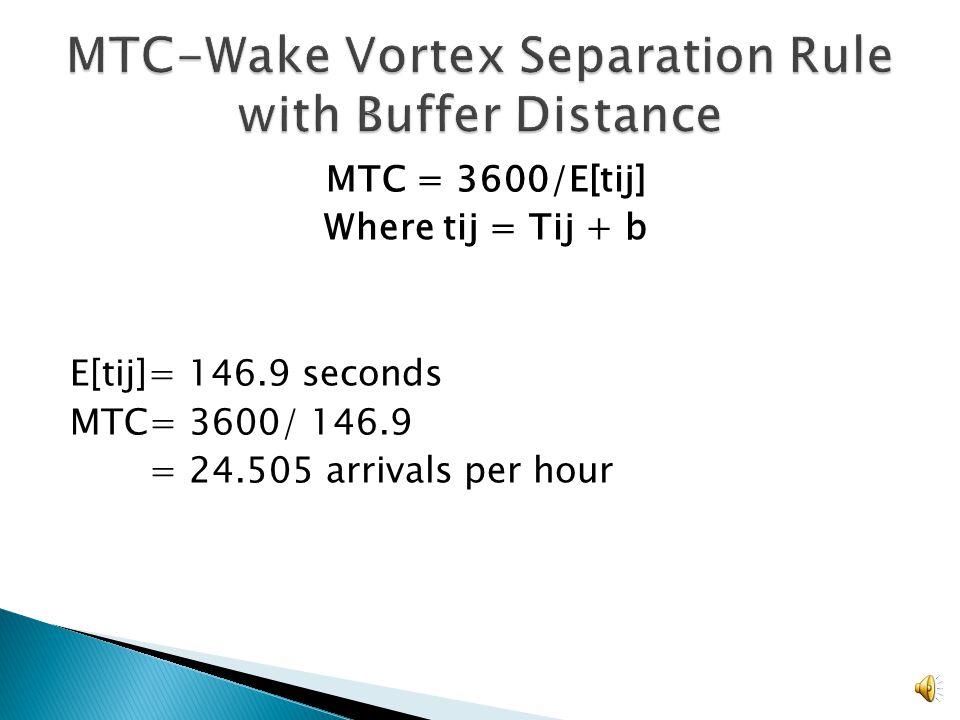 MTC = 3600 seconds/E[t ij ] E[t ij ]= (.09*120)+(.06*188)+…+(.06*120) =141.9 MCT = 3600 seconds/141.9 = 25.368