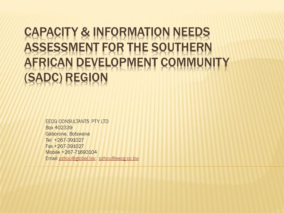 EECG CONSULTANTS PTY LTD Box 402339 Gaborone, Botswana Tel +267-391027 Fax +267-391027 Mobile +267-71693104 Email pzhou@global.bw; pzhou@eecg.co.bwpzh