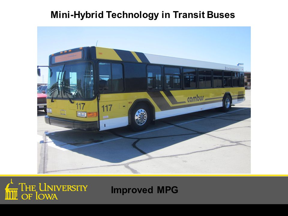 Mini-Hybrid Technology in Transit Buses Improved MPG