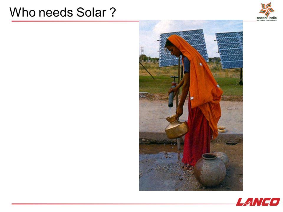 Who needs Solar ?