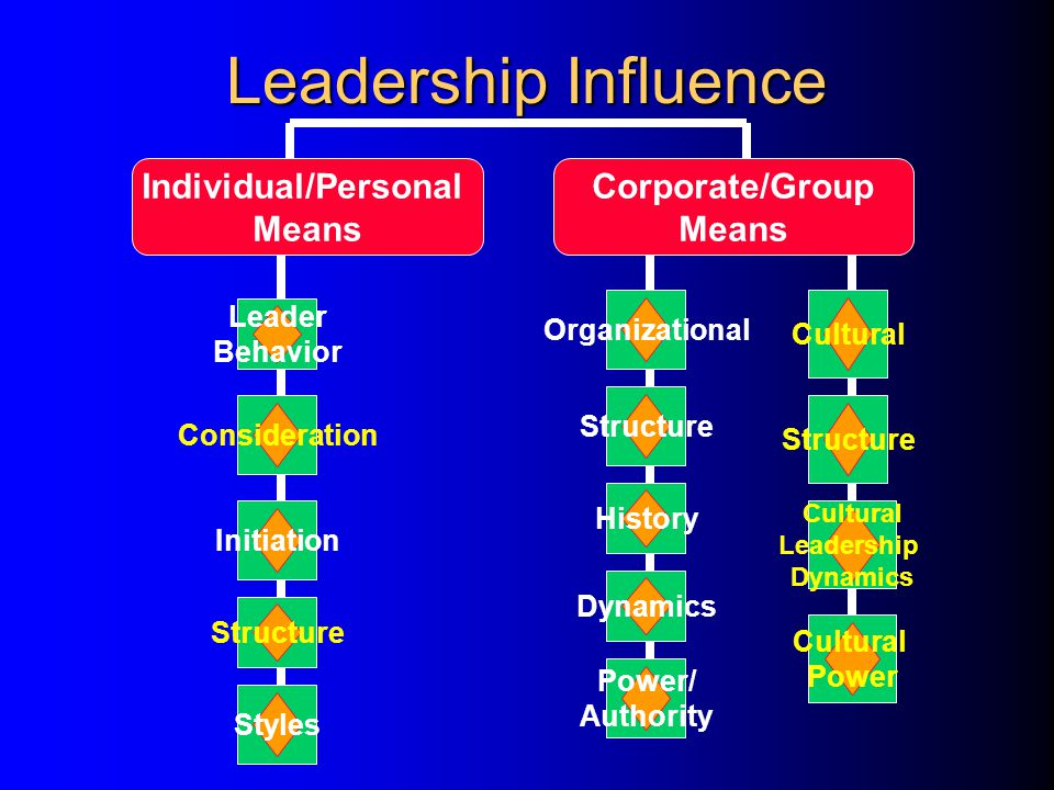 Leader Traits The Leader Leader Life History The Follower Leader Follower Relationship Follower History Follower Maturity The Situation Immediate Cont