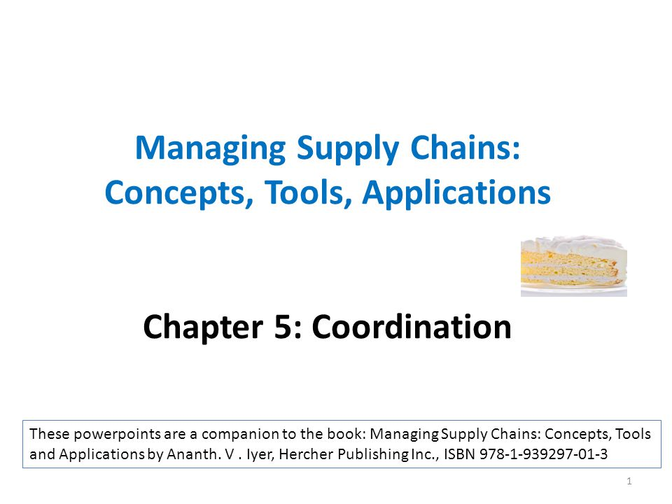 Summary In the absence of coordinating agreements, the supply chain profit is not maximized Coordinating agreements enable independent decisions by participants in the supply chain while attaining the supply chain maximum profit These coordinating agreements can be structured to generate win-win outcomes Coordination agreements offer a tool to enable both supply chain profit increases as well as win-win outcomes across supply chain participants 22