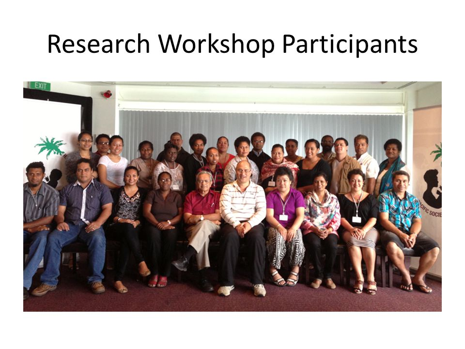 Research Workshop Participants