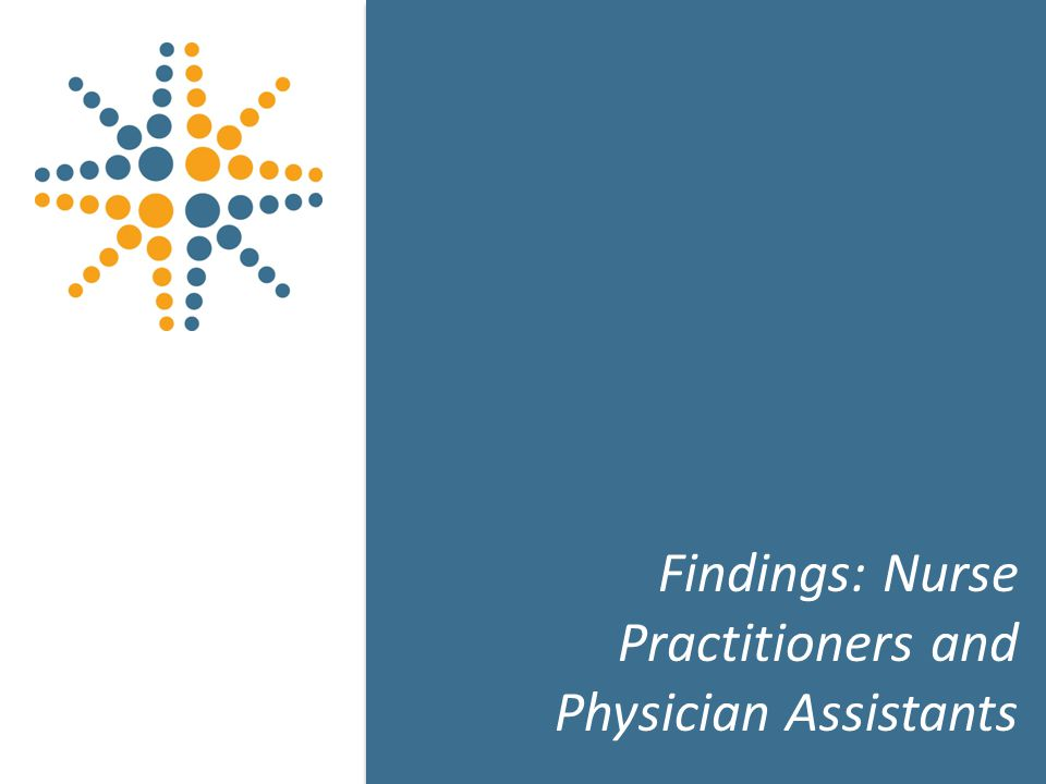 21 Findings: Nurse Practitioners and Physician Assistants 21