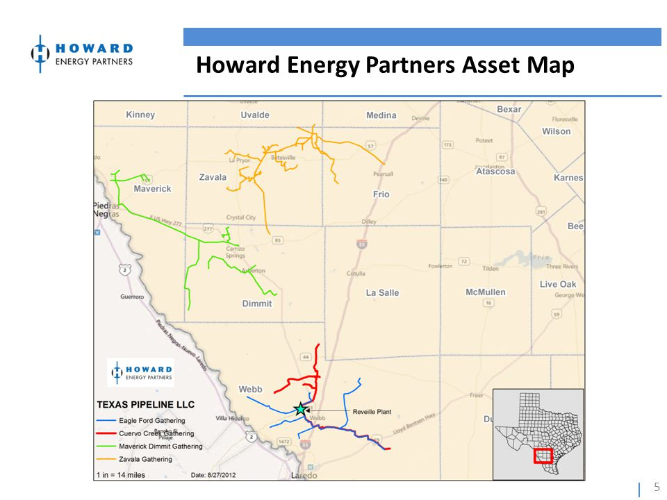 Howard Energy Partners Asset Map 5