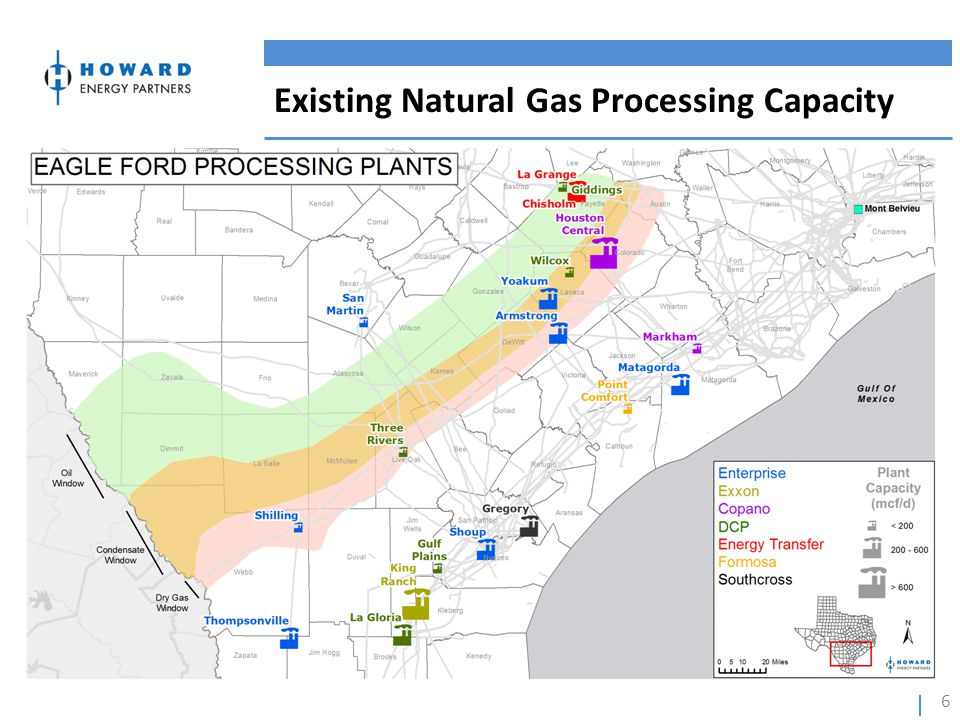 Existing Natural Gas Processing Capacity 6