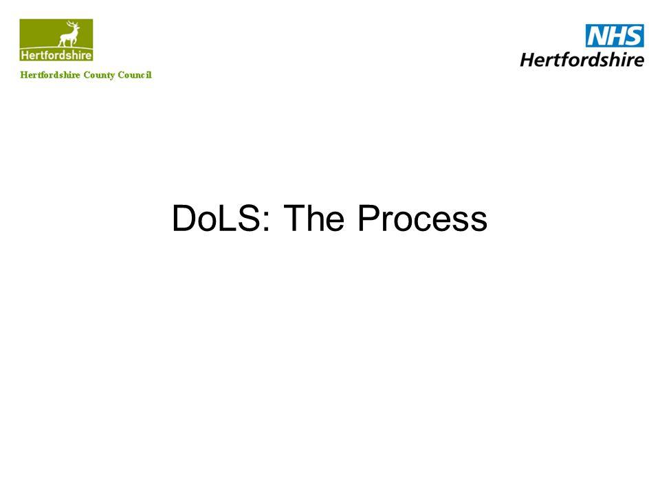 DoLS: The Process