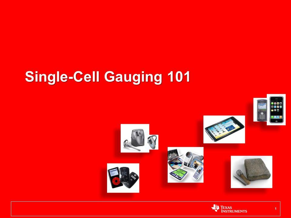 Single-Cell Gauging 101 1