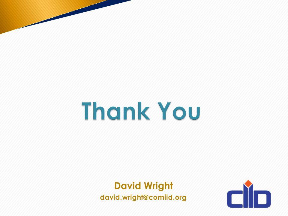 David Wright david.wright@comiid.org
