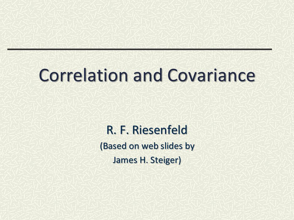 Evaluation yields, Evaluation yields, 12 Covariance Calculation (2) R F Riesenfeld Sp 2010CS5961 Comp Stat