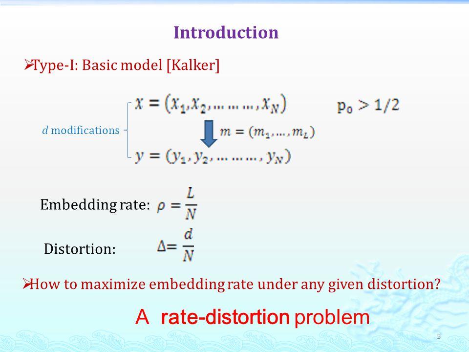 Comparison: Embedding efficiency vs.