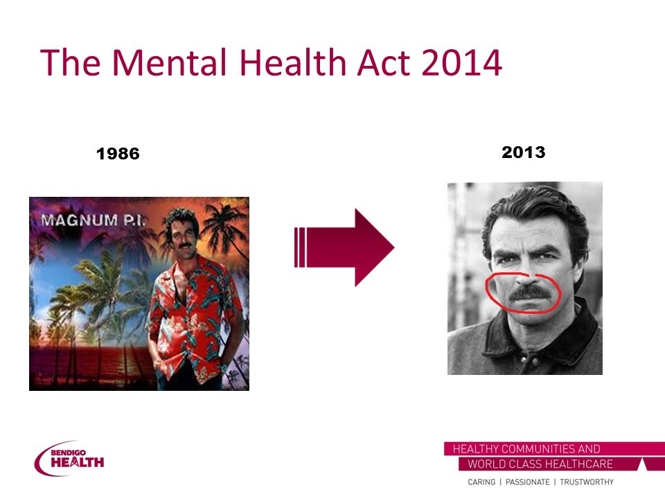 The Mental Health Act 2014 1986 2013