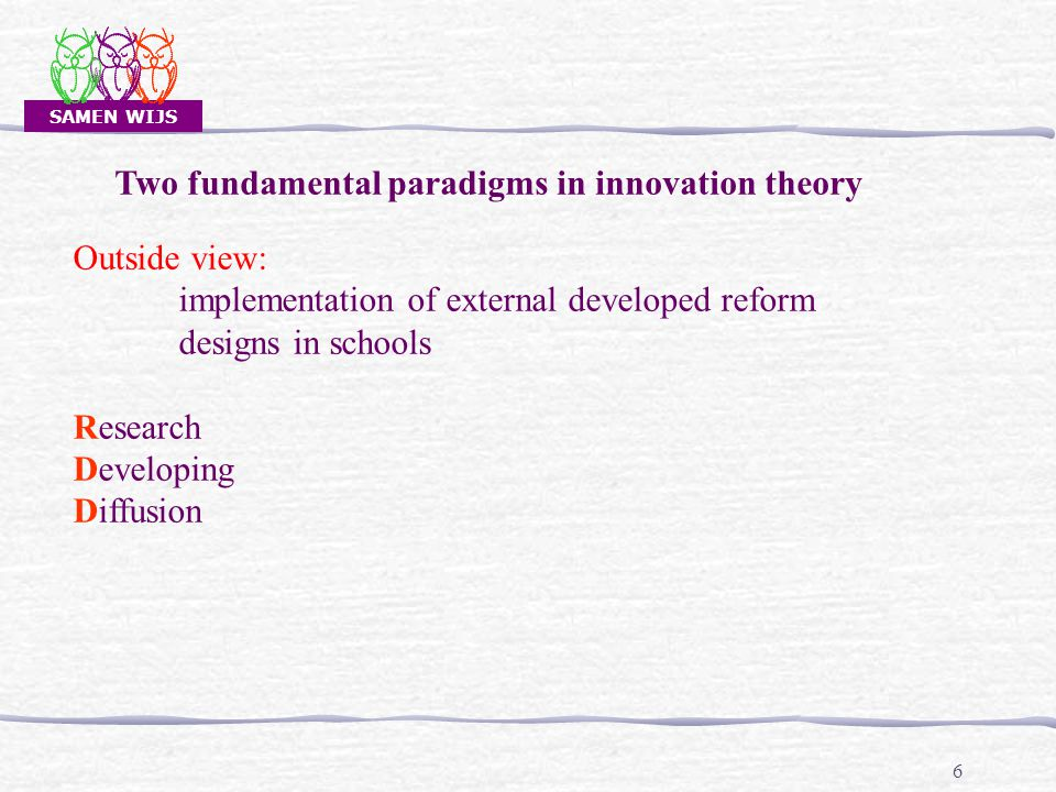 SAMEN WIJS 27 1.How to account for the development 2.Interventions: Sources.