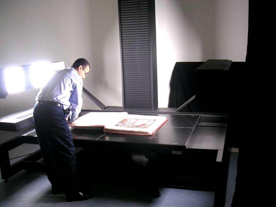 Digital Laboratory Digitizing various media including slides in multi-formats, negatives, books, manuscripts, pictures and maps Digitizing Bibliotheca Alexandrinas valuable collections Many of the Librarys projects are highly dependant on the digital laboratory