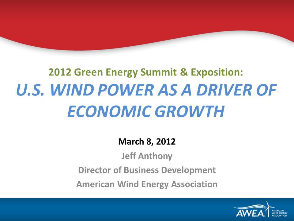 2012 Green Energy Summit & Exposition: U.S.